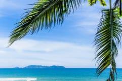 Остров Kapas стоковое изображение