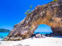 Остров Khai Koh, Satun, Таиланд Стоковое фото RF