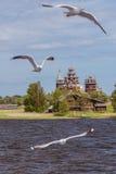 Остров Kizhi, Karelia, Россия стоковые фотографии rf
