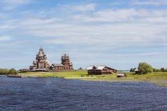 Остров Kizhi, Karelia, Россия стоковые фото