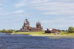 Остров Kizhi, Karelia, Россия Стоковая Фотография