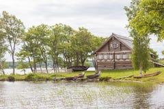 Остров Kizhi, Karelia, Россия Стоковые Изображения