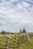 Остров Kizhi, Karelia, Россия стоковое изображение