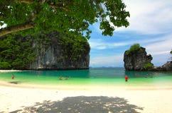 Остров Krabi Таиланда Стоковая Фотография RF
