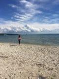 Остров Lake Huron Mackinac стоковая фотография