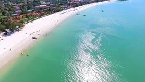 Остров Langkawi, Малайзия, вид с воздуха сток-видео