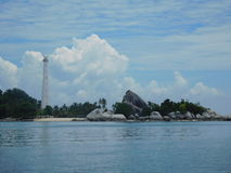 Остров Lengkuas Стоковое фото RF