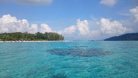 Остров Lipe, Таиланд Стоковое Изображение RF