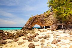 Остров Lipe Koh стоковое изображение
