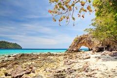 Остров Lipe Koh стоковые изображения