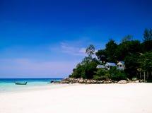 Остров Lipe, Satun, Таиланд Стоковая Фотография RF