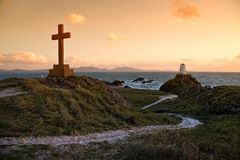 Остров Llanddwyn Стоковые Изображения