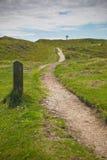 Остров Llanddwyn, Anglesey, Gwynedd, северное Уэльс, Великобритания Стоковая Фотография RF