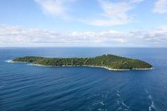 Остров Locrum, Дубровник Стоковые Изображения