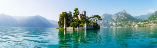 Остров Loreto в Италии стоковые фото