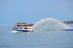 Остров Mackinac, MI - круизы морей жемчуга стоковое фото rf