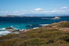 Остров Maddalena Стоковые Изображения