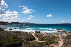 Остров Maddalena Стоковое Изображение