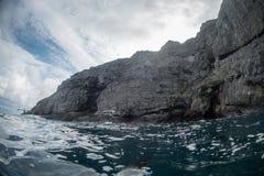 Остров Malpelo Колумбия стоковая фотография rf