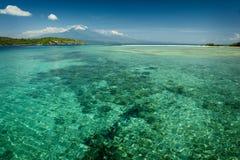 Остров Menjangan, Бали, Индонезия Стоковое фото RF