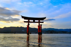 остров miyajima Стоковые Изображения RF