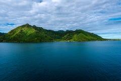 Остров Moorea в Французской Полинезии стоковые фотографии rf