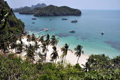 Остров Mu Ko Angthong Стоковая Фотография