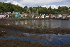 остров mull Шотландия tobarmory Стоковые Изображения RF