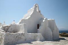 Остров Mykonos в Греции Стоковое Изображение RF