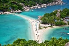 Остров Nang Юань Стоковая Фотография