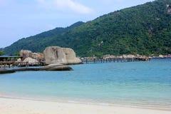 Остров Nangyuan, Таиланд Стоковое фото RF