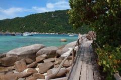 остров nangyuan Стоковая Фотография