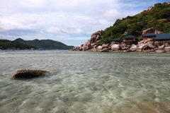 остров nangyuan Стоковые Изображения