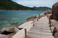 остров nangyuan Стоковое фото RF