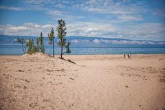 Остров Olkhon, Lake Baikal Стоковые Фотографии RF