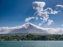Остров Ometepe в Никарагуа стоковое изображение rf