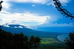Остров Ometepe Стоковые Изображения RF