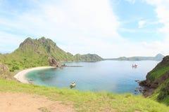 Остров Padar, Flores Стоковое Фото