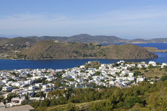 Остров Patmos, Греция Стоковое Изображение RF