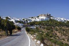 Остров Patmos, Греция Стоковое фото RF