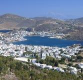 Остров Patmos, Греция Стоковые Фотографии RF