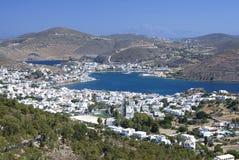 Остров Patmos, Греция Стоковые Изображения