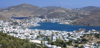Остров Patmos, Греция Стоковые Изображения RF