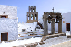 Остров Patmos, Греция Стоковая Фотография