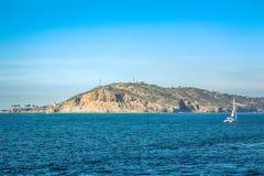 Остров Peacful назначения стоковое изображение rf