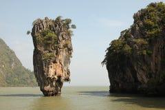 Остров Phang Nga - Жамес Бонд (Koh Tapu) стоковое изображение