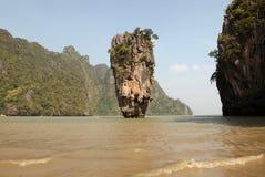 Остров Phang Nga - Жамес Бонд (Koh Tapu) стоковое фото