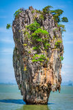 Остров Phang Nga Пхукета Жамес Бонд Стоковая Фотография