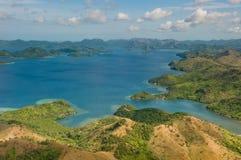 остров philippines coron стоковые фотографии rf