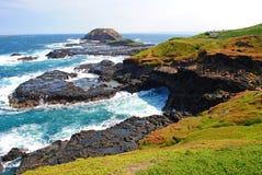 остров phillip стоковая фотография rf